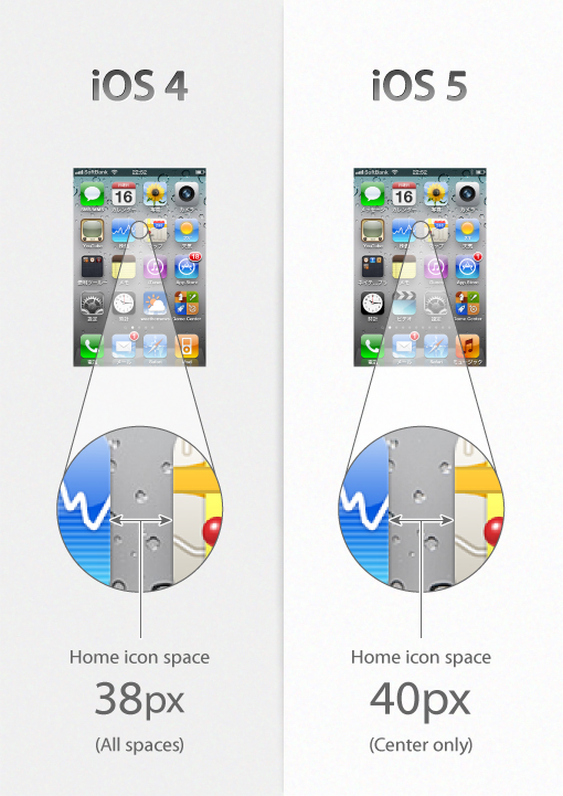 Have you Seen these Design Changes in iOS 5?