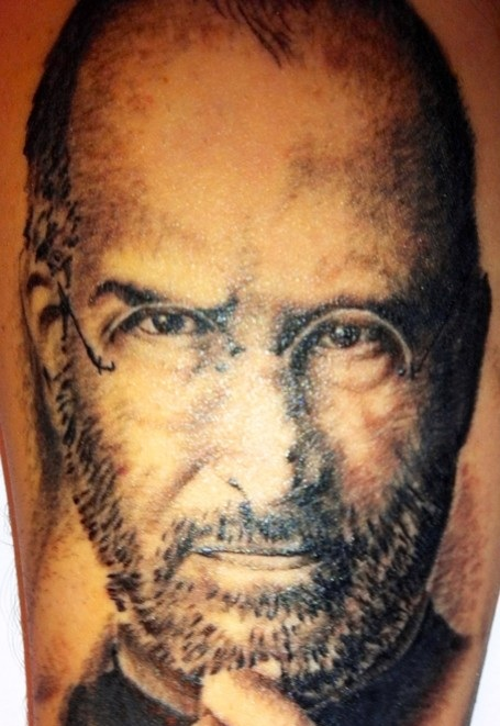 Fun Photo: Is this the best Steve Jobs Tattoo Ever?