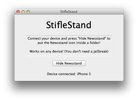 How to: Hide Newsstand From Your iPhone, iPad, and iPod Touch