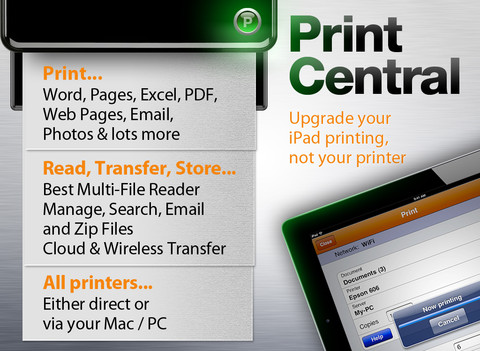 Print From Anywhere with PrintCentral