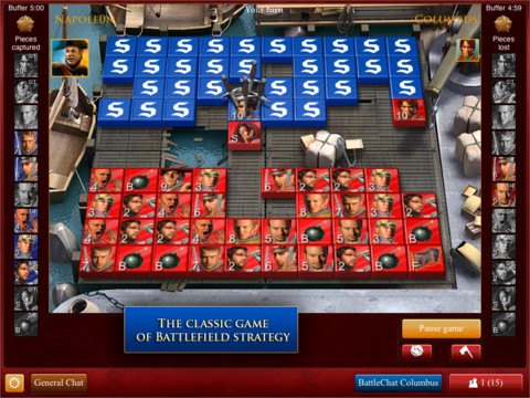 Command an Army and Outmaneuver Generals Worldwide with Stratego for iPad!