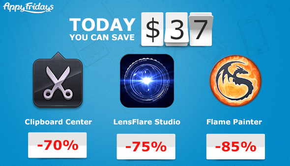 Save $37 this weekend on Three Mac Apps with AppyFridays