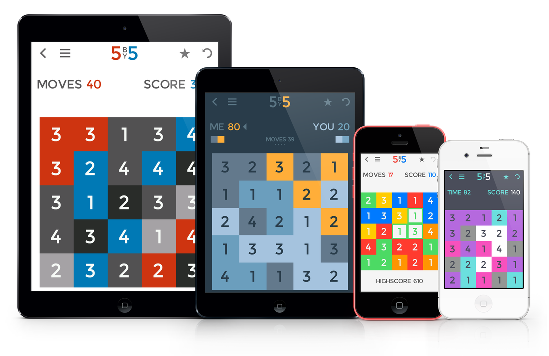 Isotope 244 Releases 5BY5 Brain Game for iOS